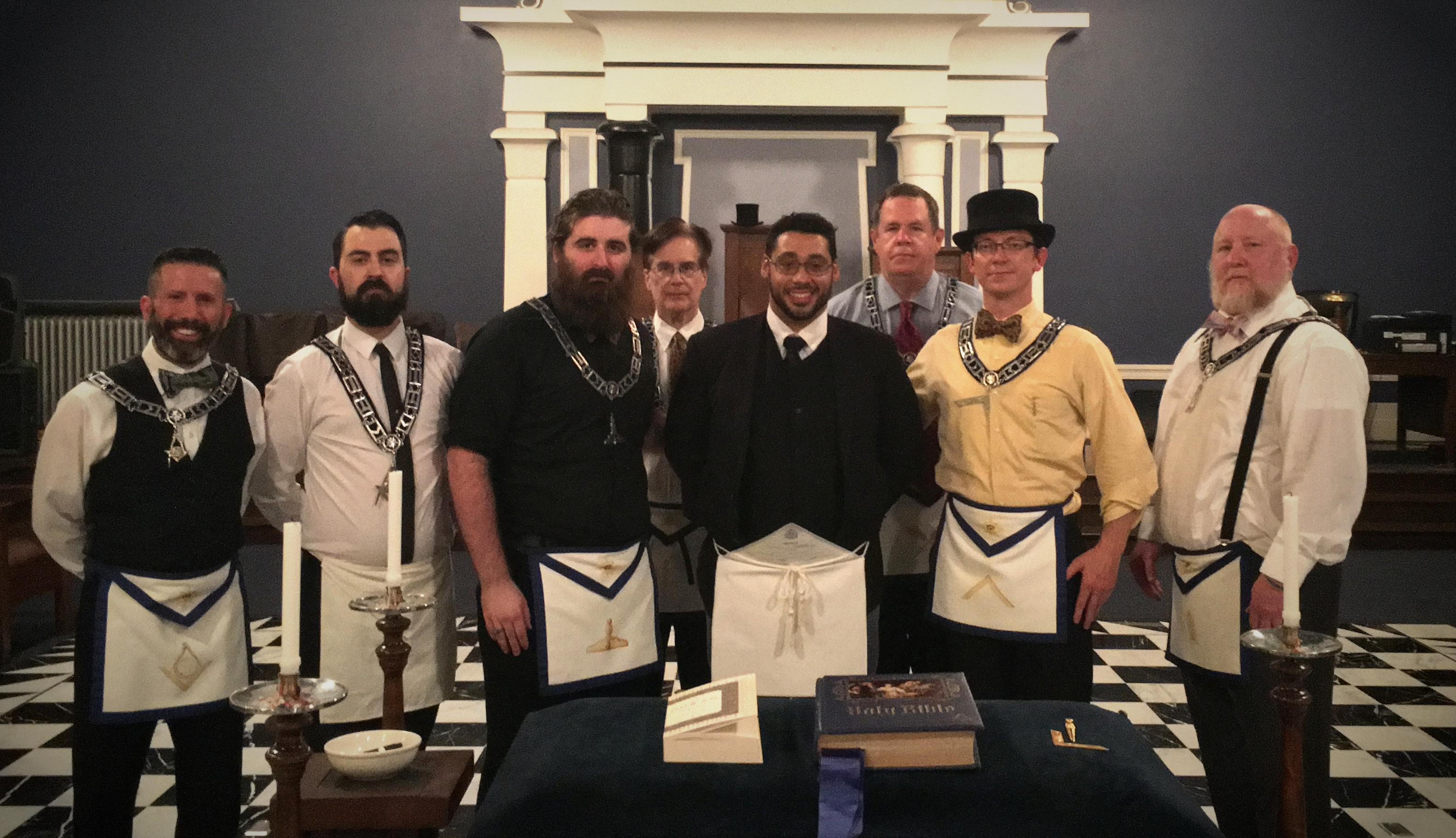 Freemason Initiation Entered Apprentice Degree