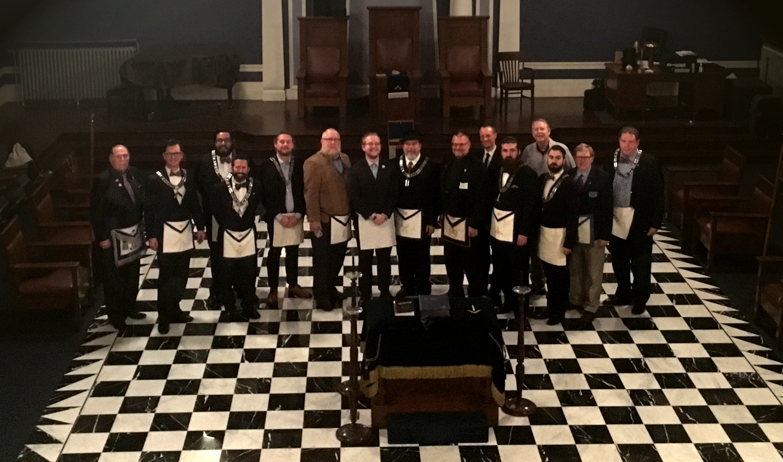 Congratulations, Brother Miller-Conley: Last Master Mason of 2018!